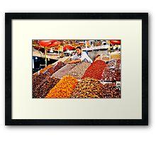 Feast Of Colour Framed Print