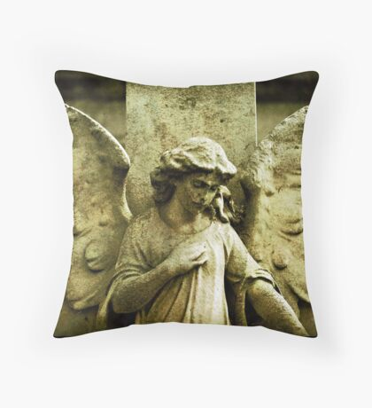~Winged and Weightless~ Throw Pillow
