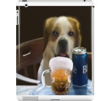 I FEEL A COLD ONE COMIN ON..CAININE BEER-JOURNAL-- PICTURE,PILLOW,TOTE BAG,TEE SHIRT,ECT..CHEERS!! iPad Case/Skin