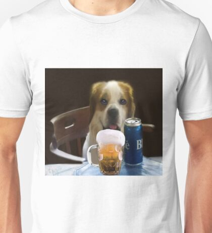I FEEL A COLD ONE COMIN ON..CAININE BEER-JOURNAL-- PICTURE,PILLOW,TOTE BAG,TEE SHIRT,ECT..CHEERS!! Unisex T-Shirt