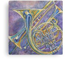 Three Horns Canvas Print
