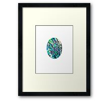 Abalone Faberge iPhone / Samsung Galaxy Case Framed Print