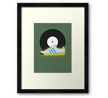 Kicks 'N' Vinyl Framed Print