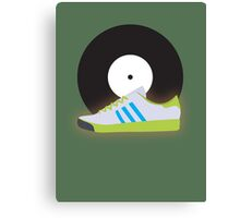 Kicks 'N' Vinyl Canvas Print