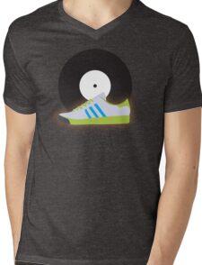 Kicks 'N' Vinyl Mens V-Neck T-Shirt