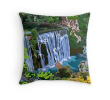 Hidden Paradise Throw Pillow