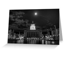 Old Market Square by Night Greeting Card