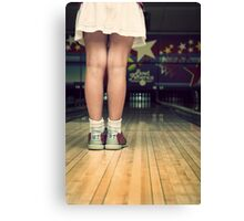 Let's Bowl Canvas Print