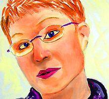 Cardboard Self Portrait by hickerson