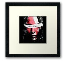 katniss everdeen girl on fire Framed Print