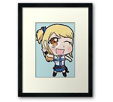 Lucy chibi Framed Print