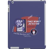 Timey Wimey Machine - Doctor Approved! iPad Case/Skin