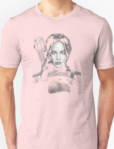 katniss everdeen beutiful woman T-Shirt