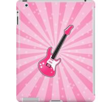 Girly Pink Electric Guitar  iPad Case/Skin