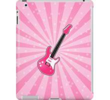 Girly Pink Electric Guitar  iPad Case/Skin