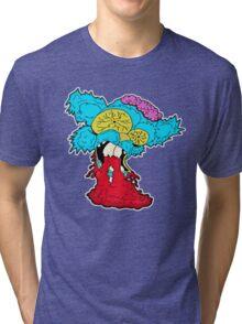 American Zombie Living Dead Squirrel Tri-blend T-Shirt