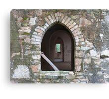 Through the church windows, Gooloogong (NSW) Canvas Print