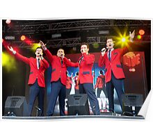 The Cast Of Jersey Boys (London) Poster