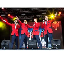 The Cast Of Jersey Boys (London) Photographic Print