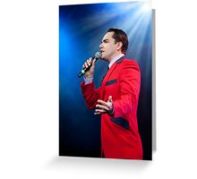Ryan Molloy - Jersey Boys London Greeting Card