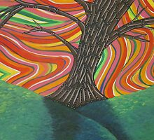 Psychedelic Tree by GroovyGal