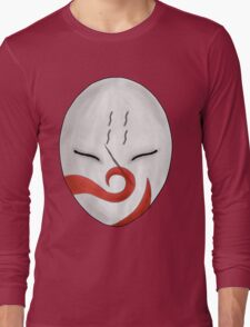 Haku's Mask Version 2 Long Sleeve T-Shirt