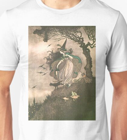 Grimm's fairy-tale witch Unisex T-Shirt