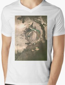 Grimm's fairy-tale witch Mens V-Neck T-Shirt