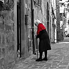 Young at Heart-Bolsena, Italy by Deborah Downes