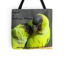 CONGRATULATIONS! - Top 10 Challenge Winner - Sharing & Caring Tote Bag