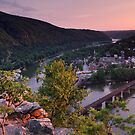 Harpers Ferry Sunset 1 - Harpers Ferry, WV by Matthew Kocin