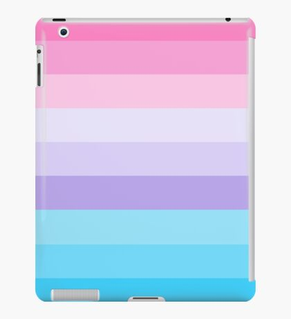 Pink, Purple, and Blue Ombre  iPad Case/Skin