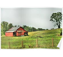 Another Red Barn Poster