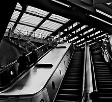 """Modern Convenience - St Pancras Station, London"" by Bradley Shawn  Rabon"