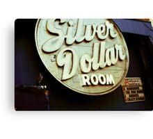 $ Silver Dollar Room $ Canvas Print
