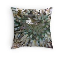 The Giant Green Beauty Throw Pillow
