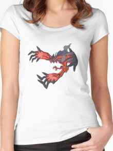 red dragon t shirt Women's Fitted Scoop T-Shirt