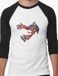 red dragon t shirt Men's Baseball ¾ T-Shirt