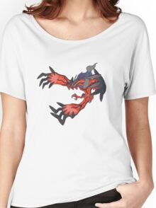 red dragon t shirt Women's Relaxed Fit T-Shirt