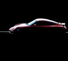 Red Porsche 911 by cadmonkey