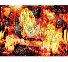 Flame Gems Photographic Print
