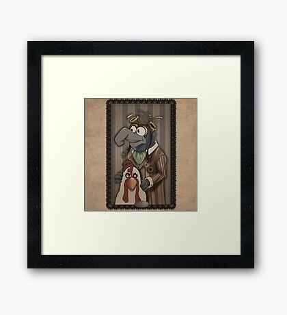 Steampunk Gonzo Framed Print