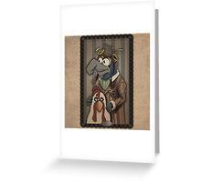 Steampunk Gonzo Greeting Card
