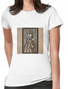 Steampunk Gonzo Womens Fitted T-Shirt