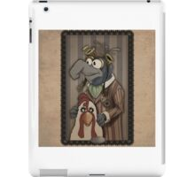 Steampunk Gonzo iPad Case/Skin
