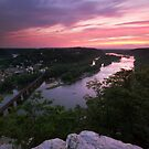Harpers Ferry Sunset 2 - Harpers Ferry, WV by Matthew Kocin