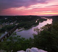 Harpers Ferry Sunset 2 - Harpers Ferry, WV by Matthew Kocin