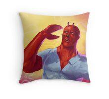 I feel it (Mr Krabs) Throw Pillow
