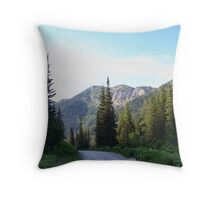 Jewel Basin Throw Pillow