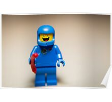 Benny from the Lego Movie Poster